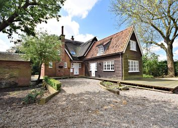 Thumbnail 3 bed detached house for sale in Back Lane, Burgh Castle, Great Yarmouth