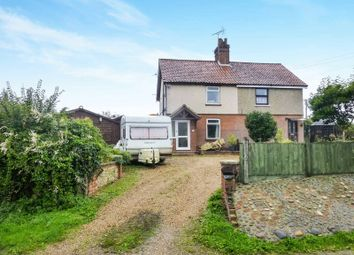 Thumbnail 3 bed semi-detached house for sale in The Street, Honing, North Walsham