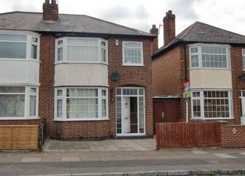 Thumbnail 3 bed semi-detached house to rent in Essex Road, Leicester