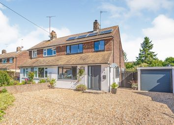Thumbnail 3 bed semi-detached house for sale in Wells Close, Plumpton Green, Lewes