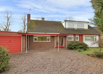 Thumbnail 4 bed detached bungalow for sale in Woolaston Drive, Alsager, Stoke-On-Trent