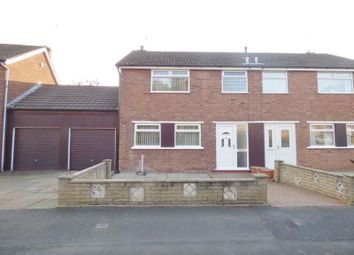 Thumbnail 3 bed semi-detached house for sale in Launceston Drive, Penketh, Warrington