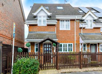 Thumbnail 3 bed end terrace house to rent in Vale Farm Road, Woking
