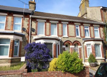 Thumbnail 3 bed terraced house for sale in Elms Vale Road, Dover