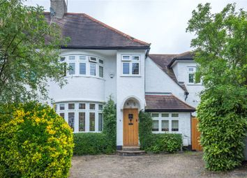 Thumbnail 4 bed semi-detached house for sale in Copthall Gardens, Mill Hill, London