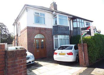 Thumbnail 3 bedroom semi-detached house for sale in Black Bull Lane, Fulwood, Preston, Lancashire