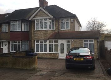 Thumbnail 4 bedroom terraced house to rent in Whitton Avenue East, Greenford