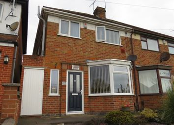 Thumbnail 3 bedroom semi-detached house for sale in Colchester Road, Leicester