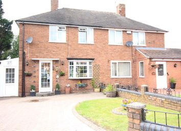 Thumbnail 2 bed semi-detached house for sale in Westminster Road, Cannock