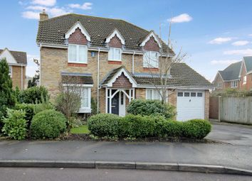 Thumbnail 4 bed detached house for sale in Falconwood Close, Fordingbridge