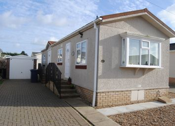 Thumbnail 2 bedroom mobile/park home for sale in The Firs, Rushbrooke Lane, Bury St. Edmunds