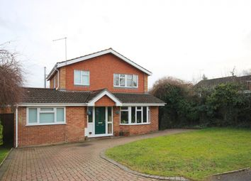 Thumbnail 4 bed detached house for sale in Ryecroft Close, Wargrave, Reading