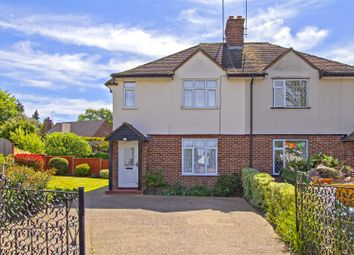 Thumbnail 2 bed semi-detached house for sale in Cragg Avenue, Radlett