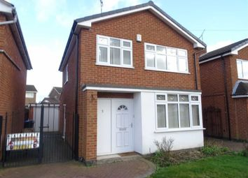 Thumbnail 3 bed detached house for sale in Brechin Close, Hinckley