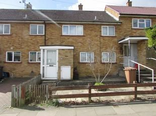 Thumbnail 2 bed terraced house for sale in Chells Way, Stevenage