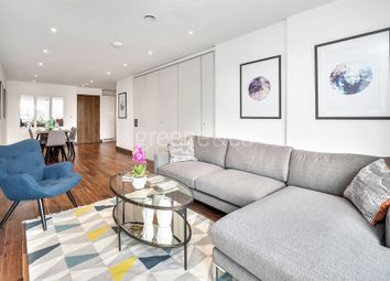Thumbnail 3 bed flat to rent in Beaufort Court, Maygrove Road, West Hampstead, London