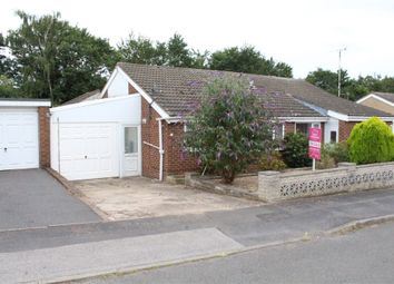Thumbnail 3 bed semi-detached bungalow for sale in Condor Close, Broughton Astley, Leicester