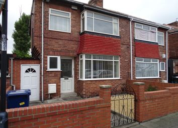 Thumbnail 3 bed semi-detached house to rent in Gowland Avenue, Fenham, Newcastle Upon Tyne