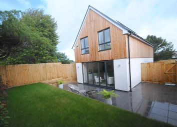Thumbnail 3 bedroom detached house for sale in Leslie Road, Whitecliff, Poole, Dorset