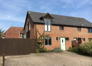 Thumbnail 3 bed semi-detached house for sale in Monk Sherborne Road, Sherborne St. John, Hampshire