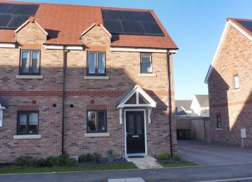 Thumbnail 2 bed semi-detached house for sale in Wentworth Drive, Priors Hall, Corby