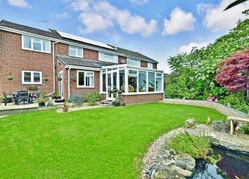Thumbnail 4 bed semi-detached house for sale in Alexander Close, Waterlooville