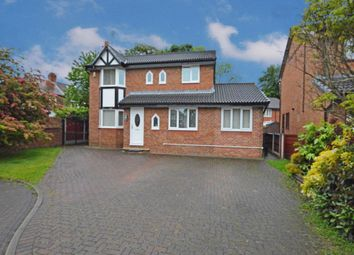 Thumbnail 4 bed detached house for sale in Acorn Close, Whitefield, Manchester