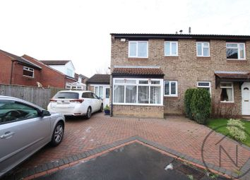 Thumbnail 3 bed semi-detached house for sale in Fawn Close, Newton Aycliffe