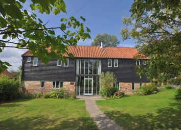 Thumbnail 6 bed barn conversion for sale in Hemingstone, Ipswich, Suffolk