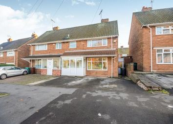 Thumbnail 3 bed semi-detached house for sale in Primley Avenue, Walsall, West Midlands