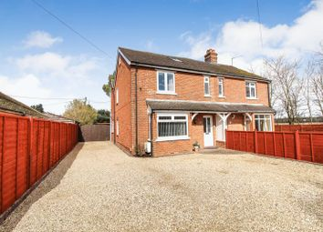 Thumbnail 4 bed semi-detached house for sale in London Road, Benham Hill, Thatcham