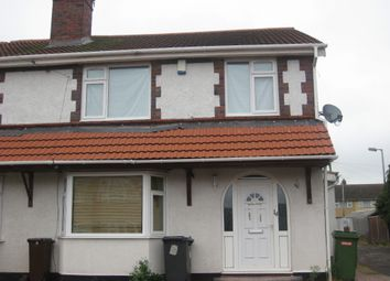 Thumbnail 4 bed semi-detached house to rent in Duke Street, Wednesfield, Wolverhampton
