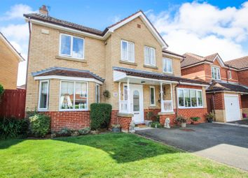 Thumbnail 4 bed detached house for sale in Larkspur Avenue, Healing, Grimsby