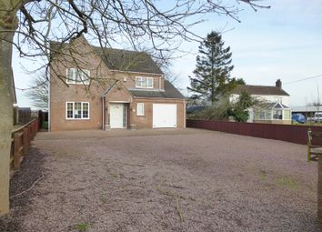 Thumbnail 4 bed detached house for sale in Main Road, Parson Drove, Wisbech