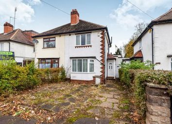 Thumbnail 2 bedroom semi-detached house for sale in Reservoir Road, Selly Oak, Birmingham, West Midlands