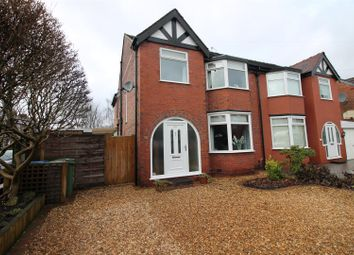 Thumbnail 4 bed semi-detached house for sale in Carrsvale Avenue, Urmston, Manchester