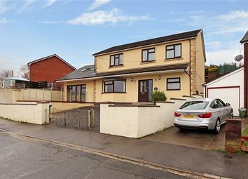 Thumbnail 5 bedroom detached house for sale in Lanwood Road, Graigwen, Pontypridd