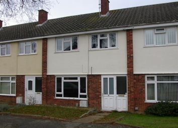 Thumbnail 3 bedroom terraced house for sale in 5 Agate Close, Ipswich, Suffolk