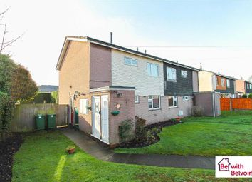 Thumbnail 1 bed maisonette for sale in Camelot Close, Cannock