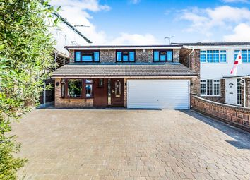 Thumbnail 4 bedroom detached house for sale in Rushley Close, Grays