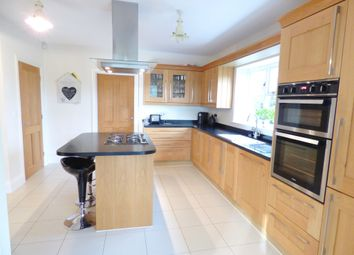 Thumbnail 4 bed detached house for sale in The Leas, Cottesmore, Oakham