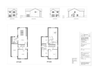 Thumbnail 4 bed detached house for sale in Plot 3, Land Adjacent To East Croft, Gilcrux, Wigton