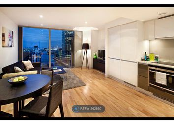 Thumbnail 1 bed flat to rent in Landmark East Tower, London