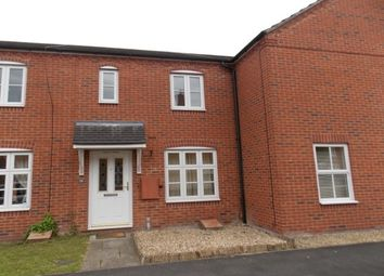 Thumbnail 2 bed terraced house to rent in Iron Way, Breme Park, Bromsgrove