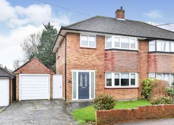 Thumbnail 3 bed semi-detached house for sale in Red Oak Close, Orpington