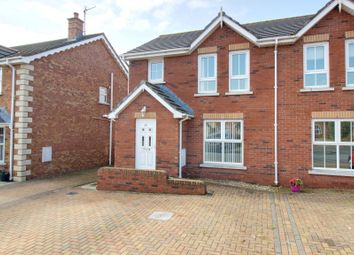 Thumbnail 3 bed semi-detached house for sale in Shorelands Court, Cloughey