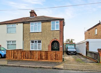 Thumbnail 3 bed semi-detached house for sale in Deben Road, Ipswich