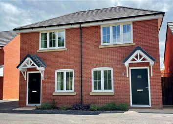 "Thumbnail 2 bedroom semi-detached house for sale in ""Fairmont"" at Platt Lane, Keyworth, Nottingham"