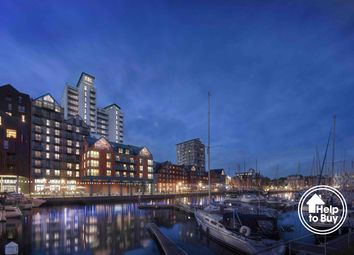 Thumbnail 1 bedroom flat for sale in Regatta Quay, Key Street, Ipswich