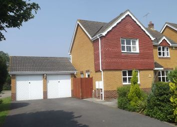 Thumbnail 4 bed detached house to rent in Broadmead, Farnborough